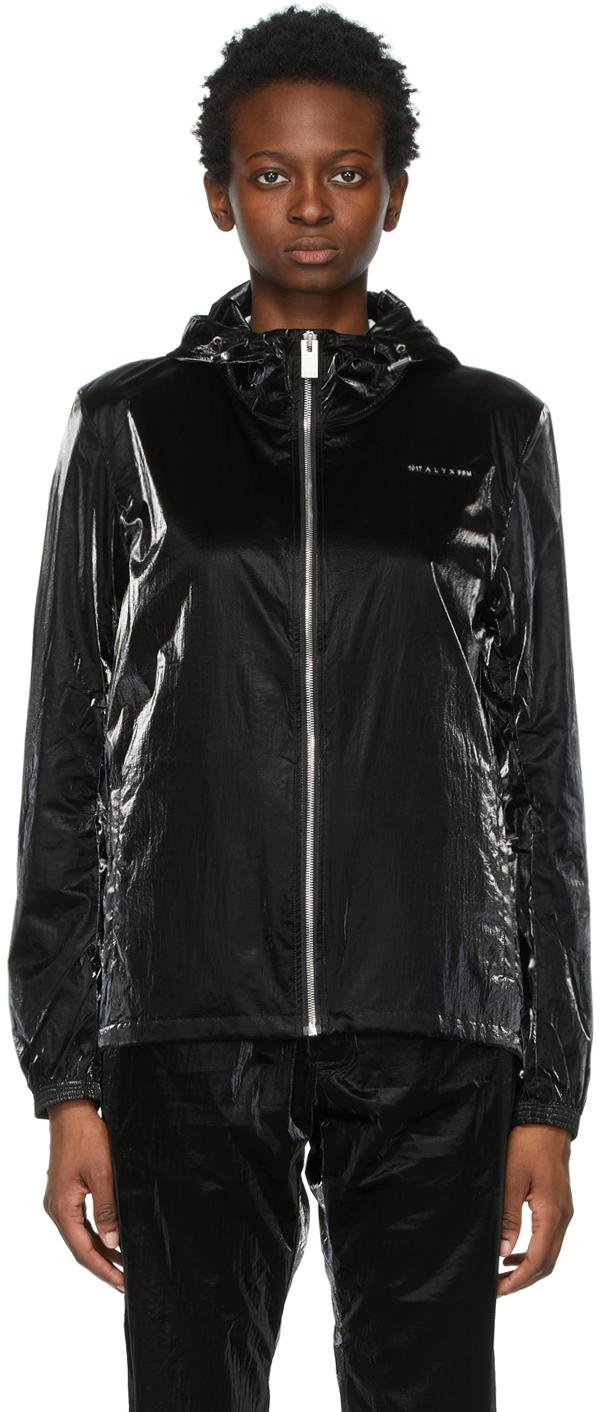 1017 ALYX 9SM Black Nightrider Shell Jacket 211776F063001