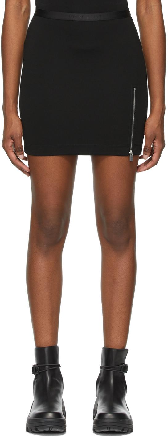 1017 ALYX 9SM Black Logo Waistband Sport Miniskirt 211776F090044