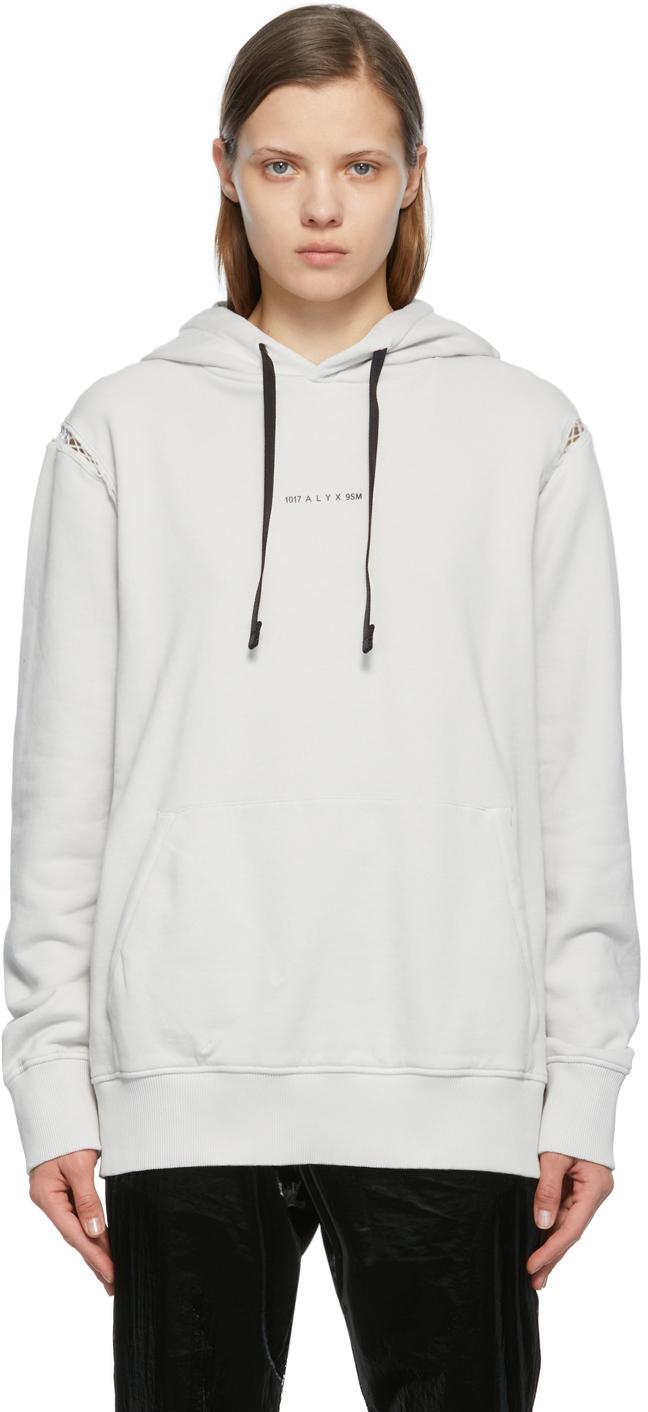 1017 ALYX 9SM Off White Insert Logo Print Hoodie 211776F097013