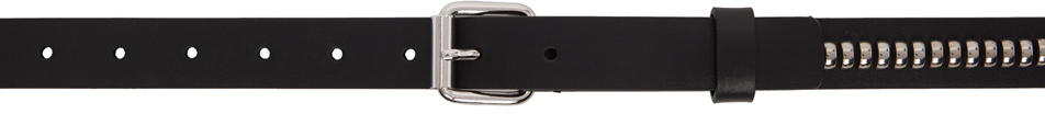 1017 ALYX 9SM Black Medium Studded Belt 211776M131012