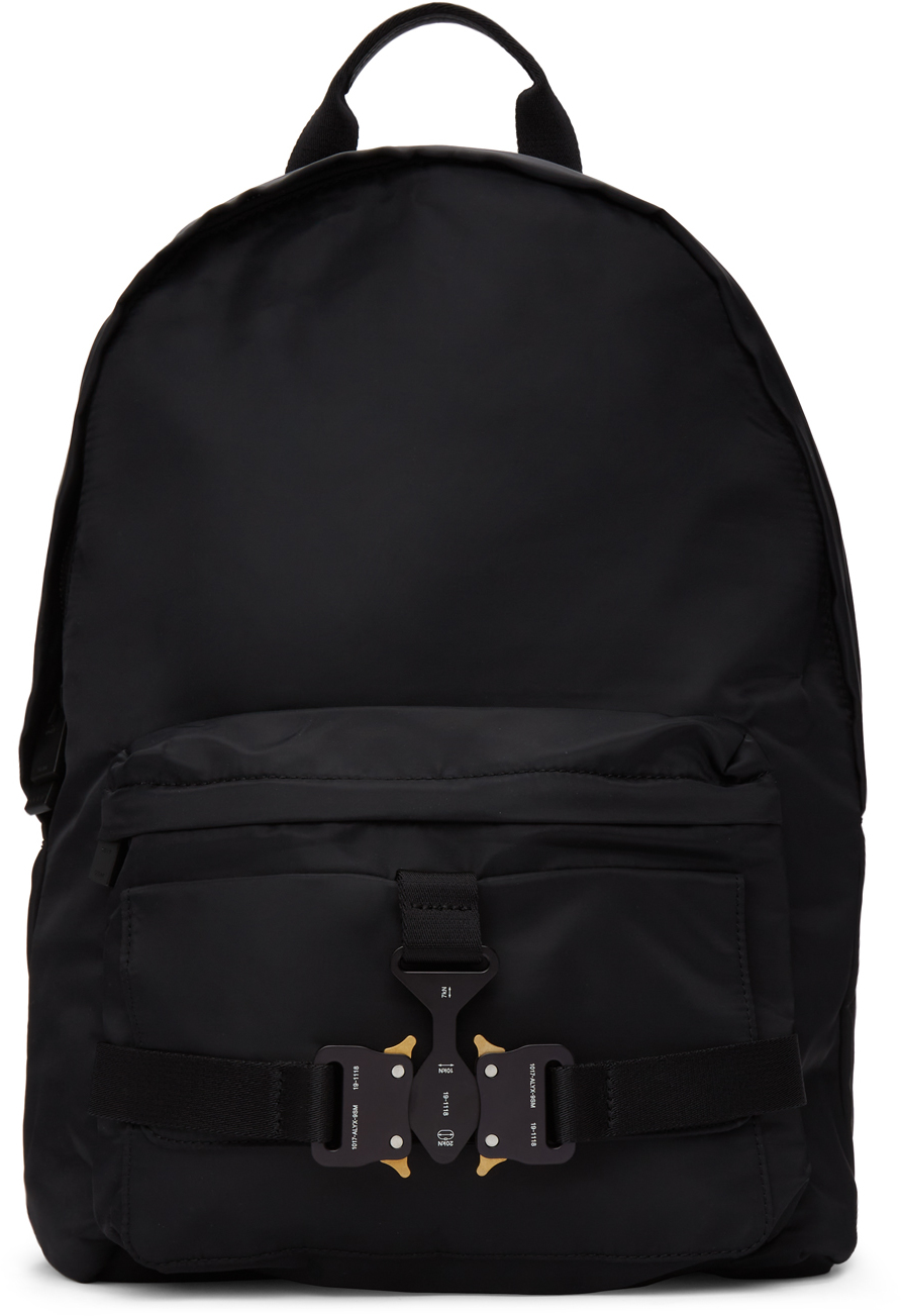 1017 ALYX 9SM Black Tricon Backpack 211776M166000