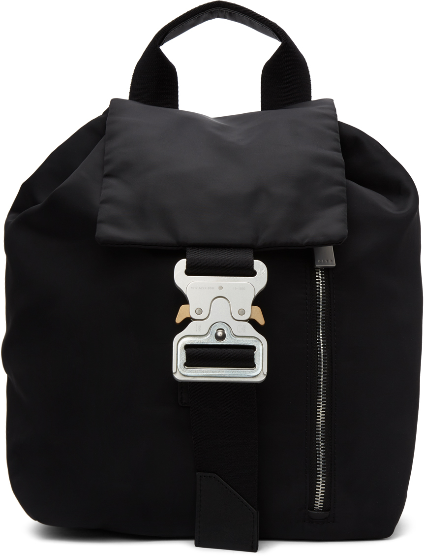 1017 ALYX 9SM Black Tank Backpack 211776M166002