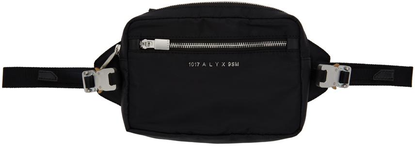 1017 ALYX 9SM Black Re Nylon Fuoripista Belt Bag 211776M171000
