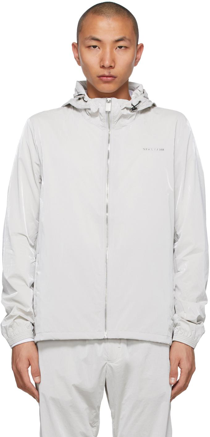 1017 ALYX 9SM Grey Nightrider Shell Jacket 211776M180001