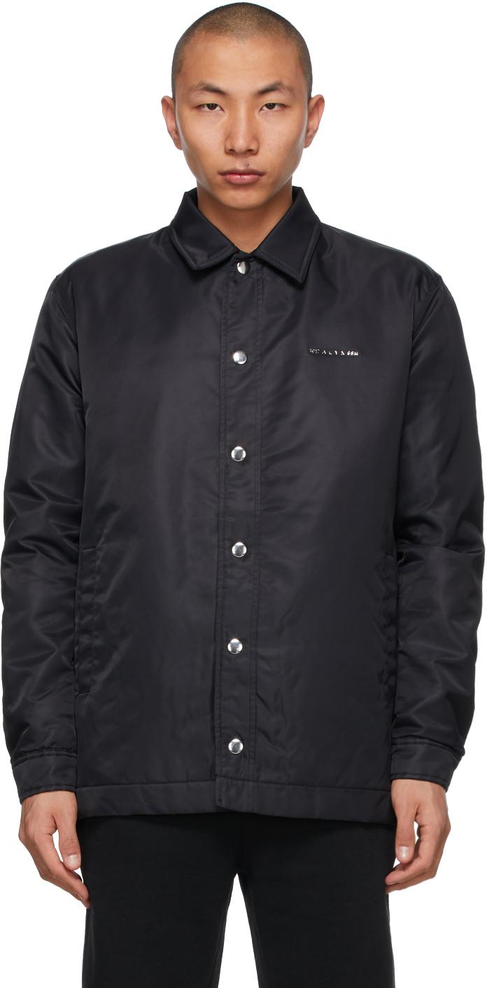 1017 ALYX 9SM Black Nylon Jacket 211776M180002