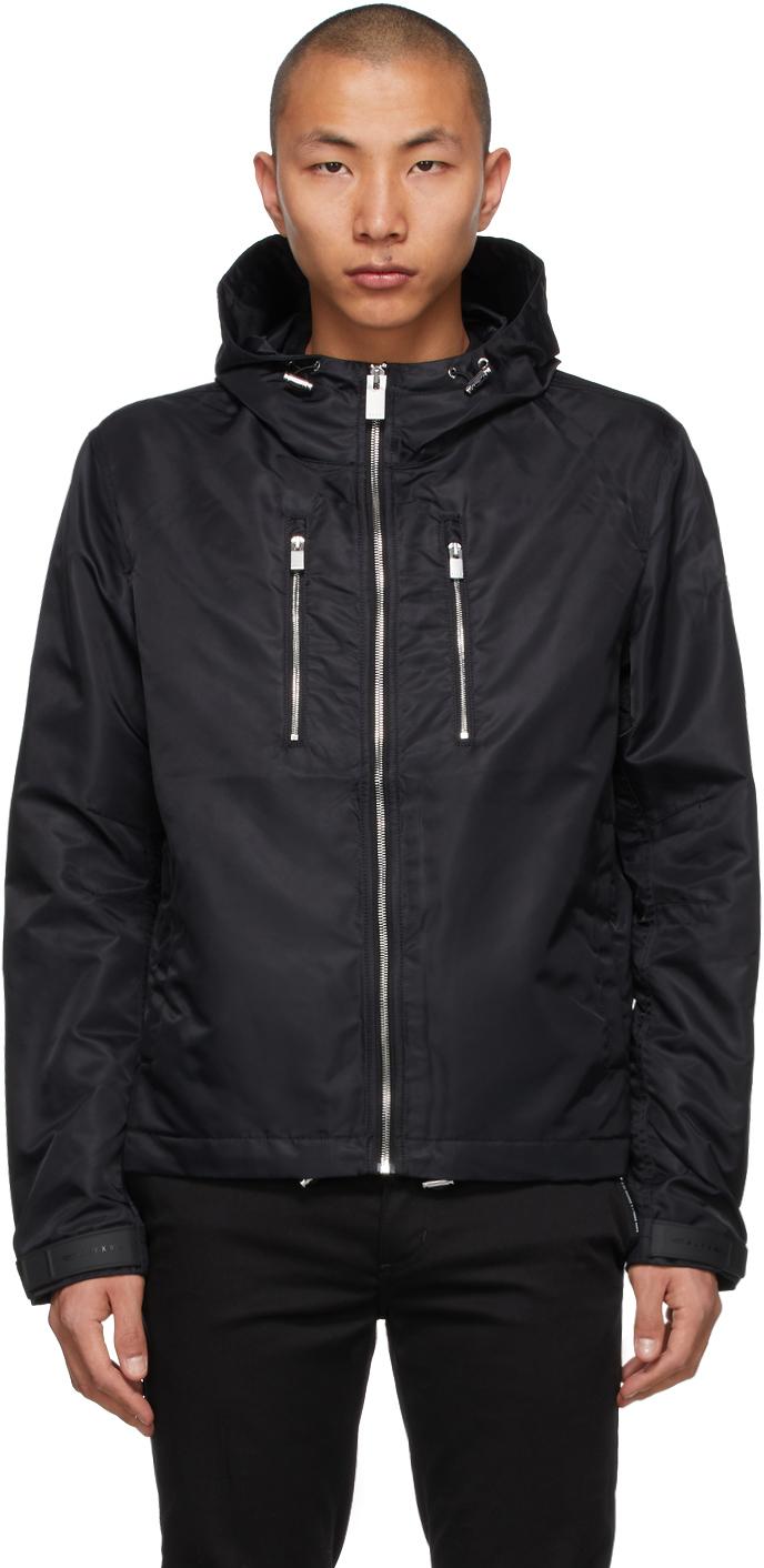 1017 ALYX 9SM Black Windbreaker Jacket 211776M180004