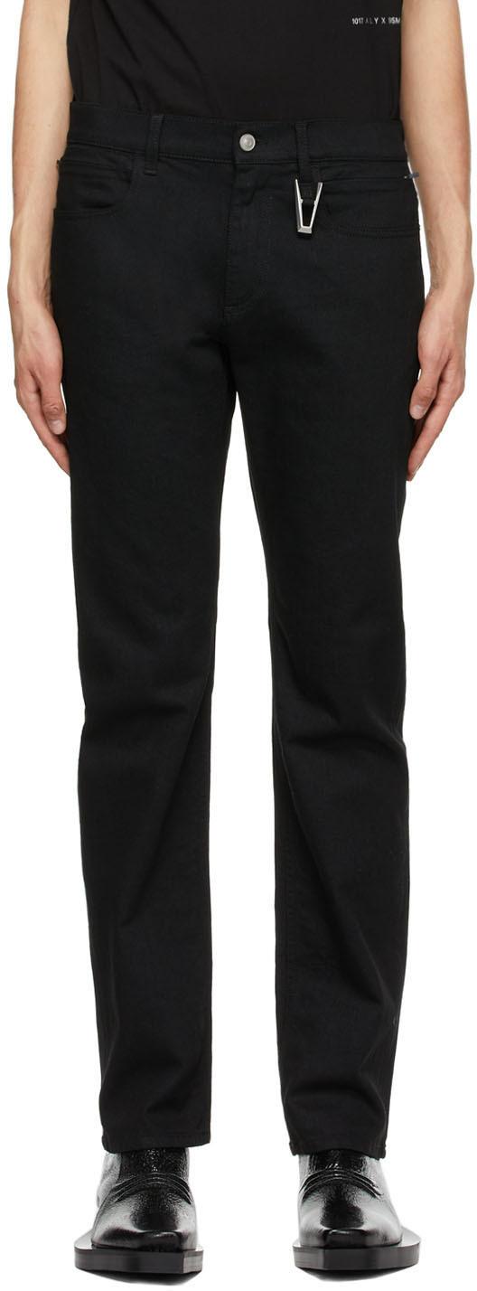 1017 ALYX 9SM Black Six Pocket Jeans 211776M186002