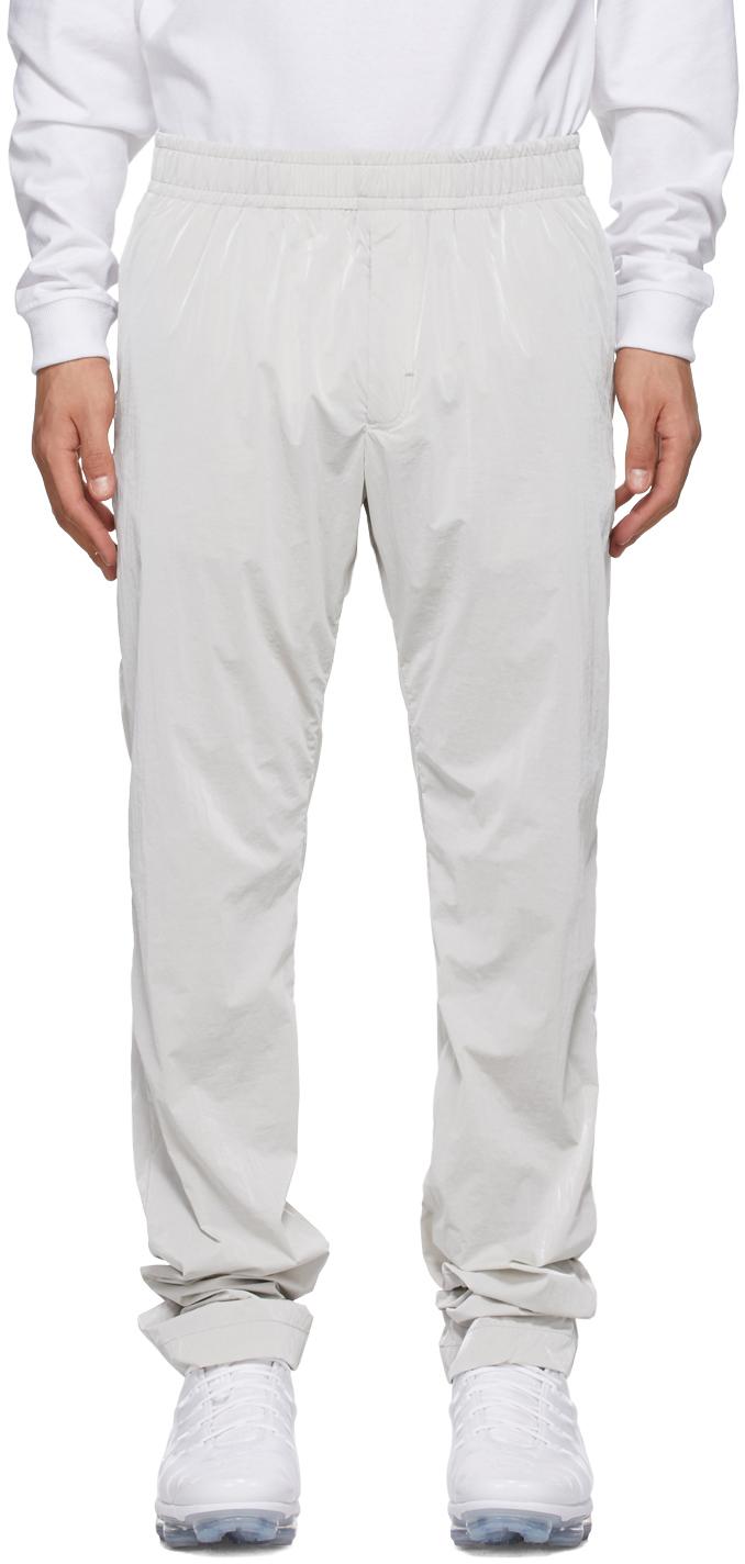 1017 ALYX 9SM Grey Nightrider Elastic Trousers 211776M190002