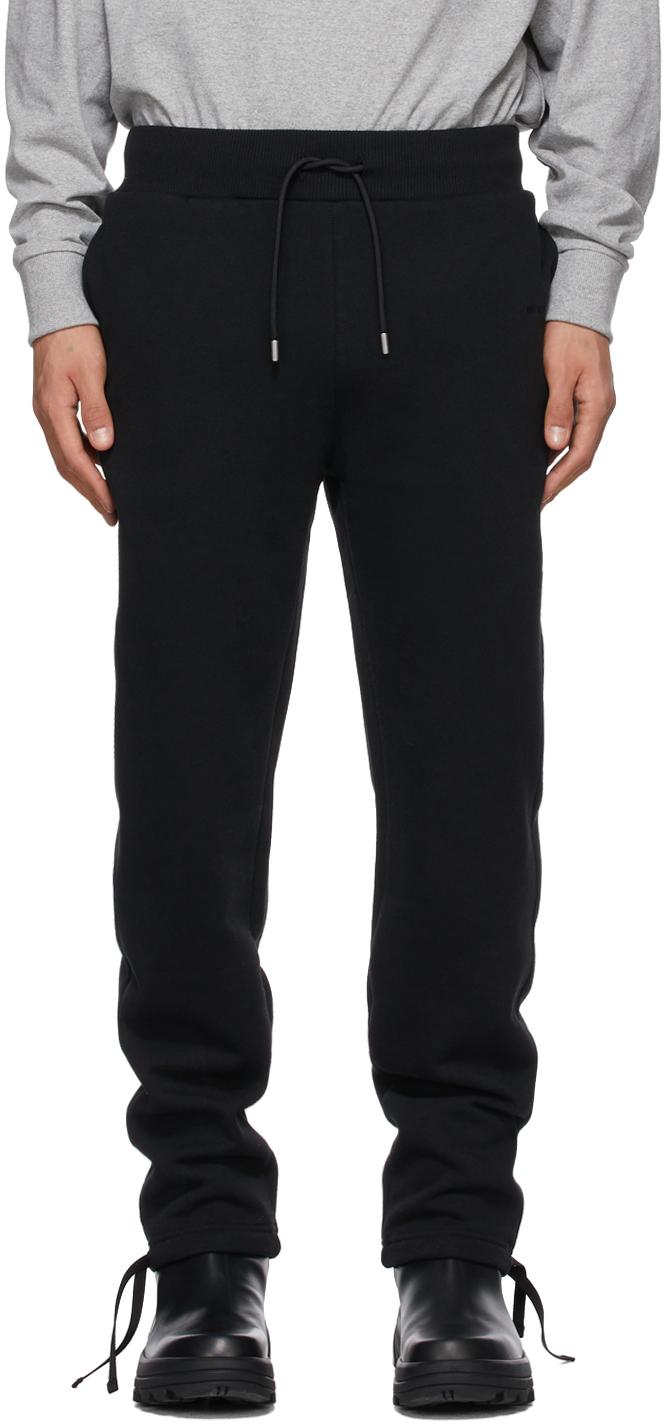 1017 ALYX 9SM Black Fleece Visual Lounge Pants 211776M190005
