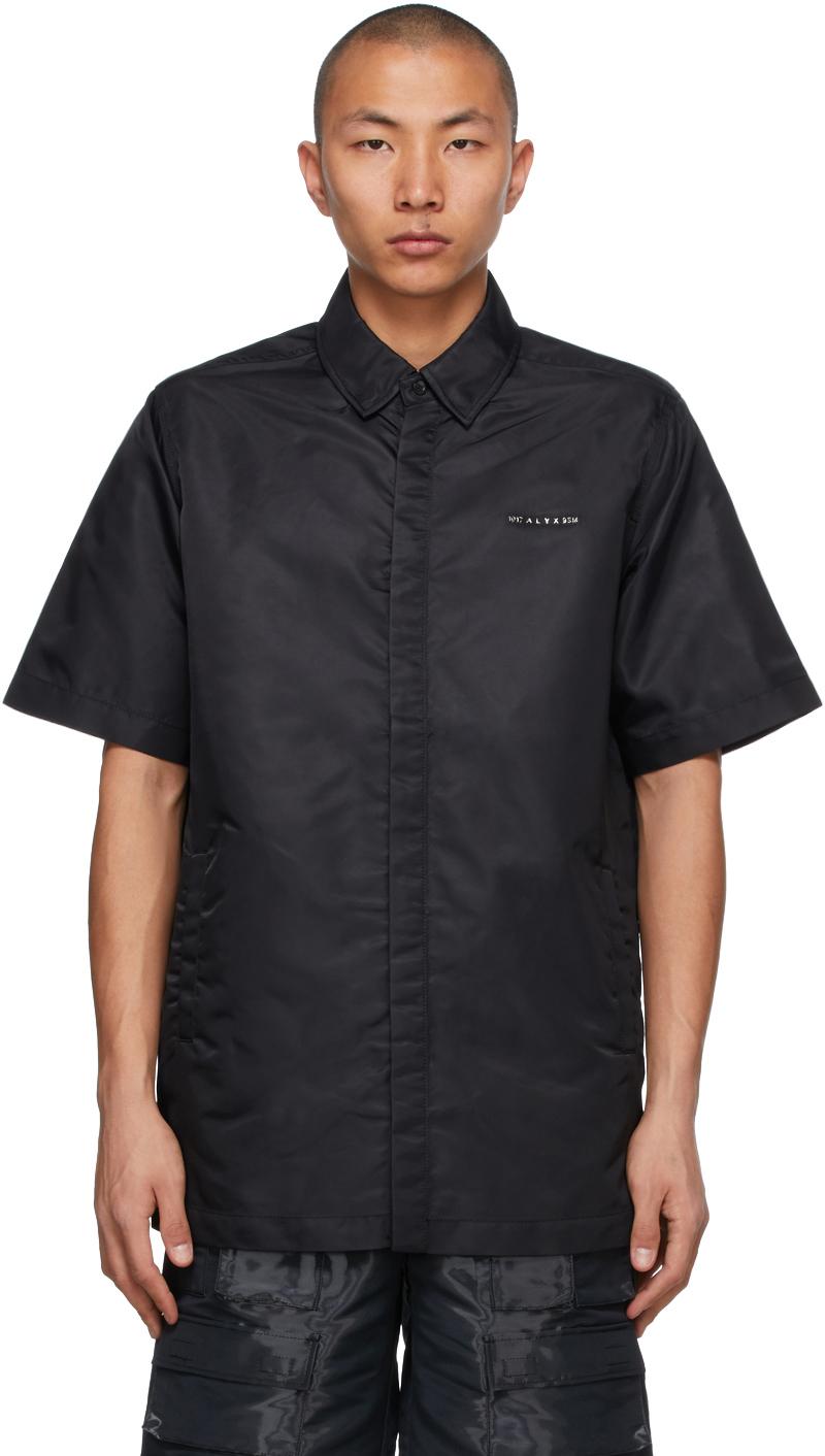 1017 ALYX 9SM Black Short Sleeve Shirt 211776M192000