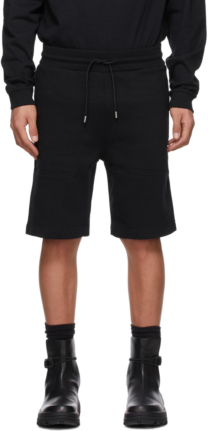 1017 ALYX 9SM Black Sweatpant Shorts 211776M193000