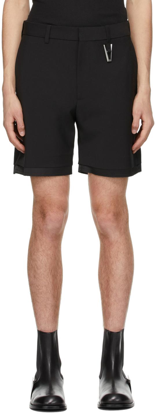 1017 ALYX 9SM Black A Tailoring Shorts 211776M193002