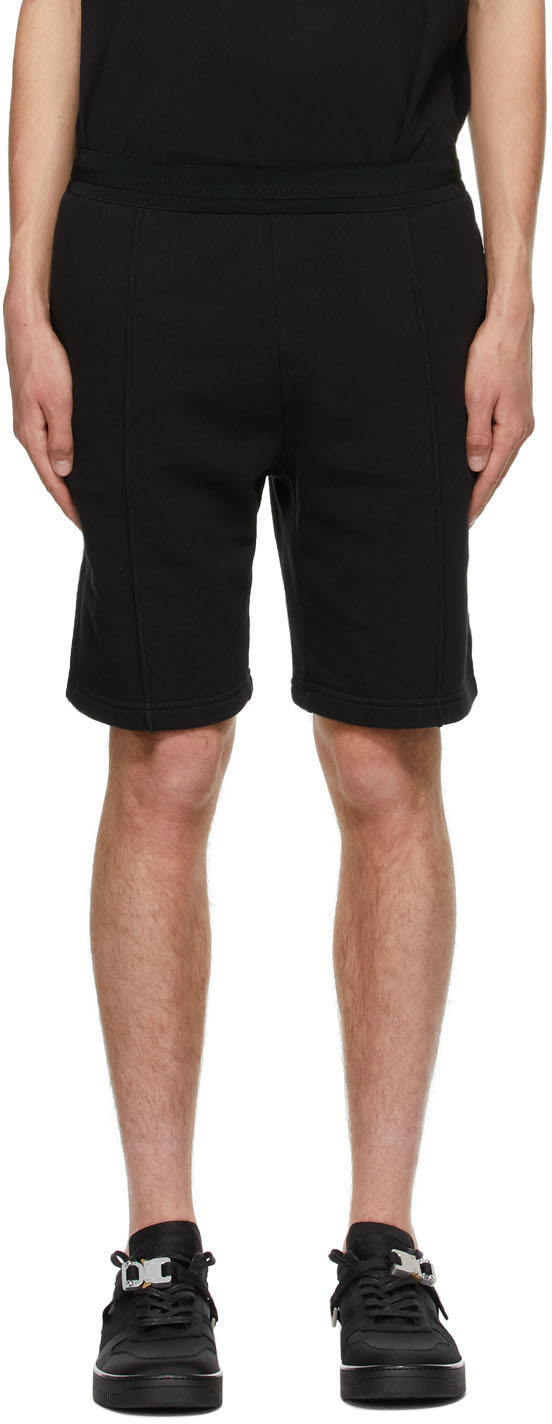 1017 ALYX 9SM Black Double Logo Shorts 211776M193005
