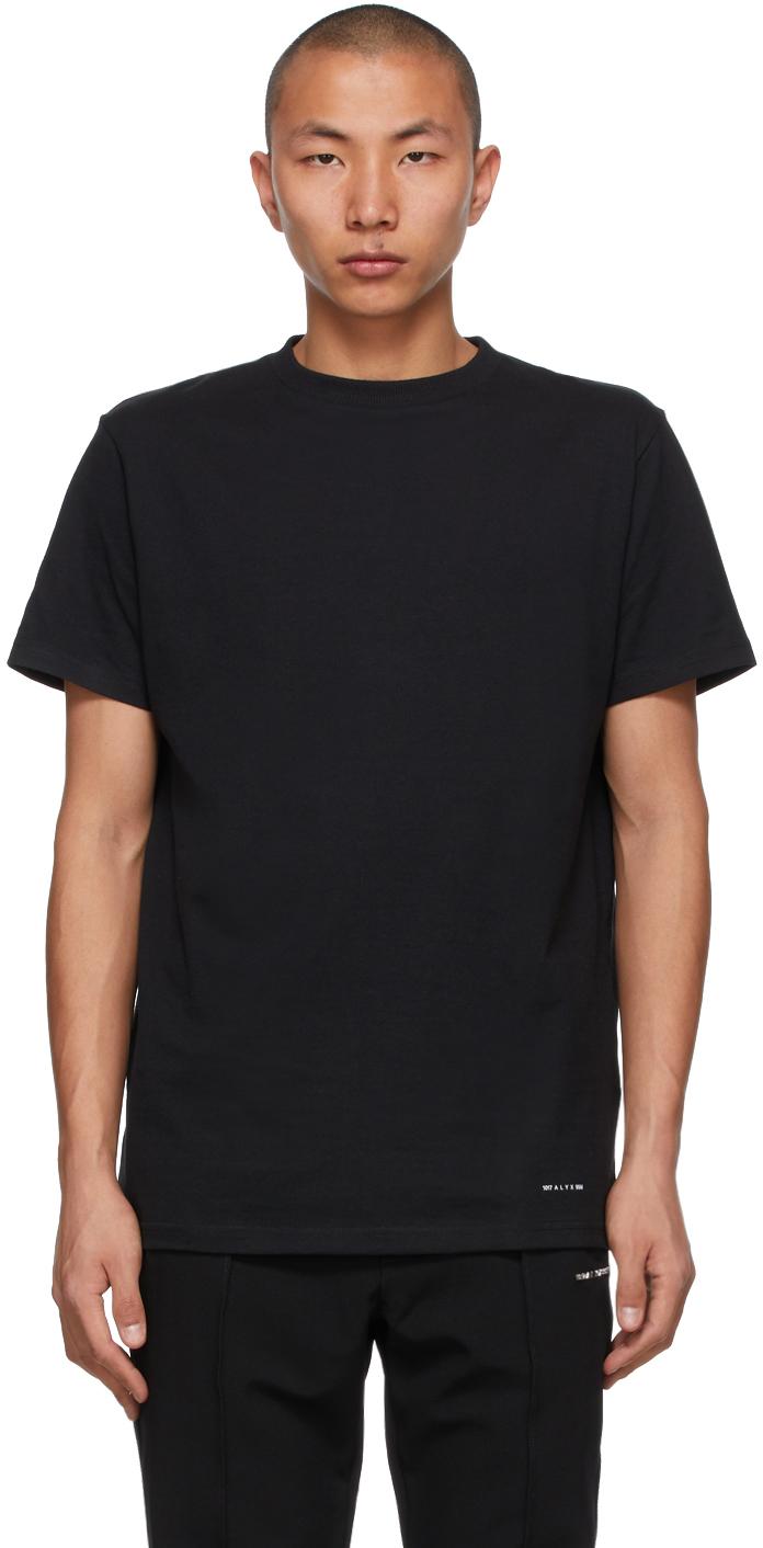 1017 ALYX 9SM Three Pack Black Jersey T Shirts 211776M213012