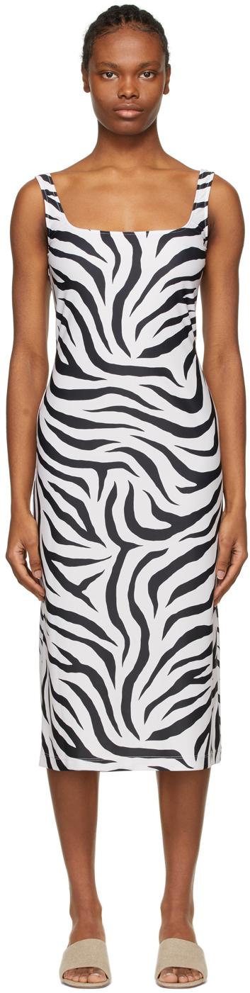 SSENSE Exclusive White & Black Salma Dress