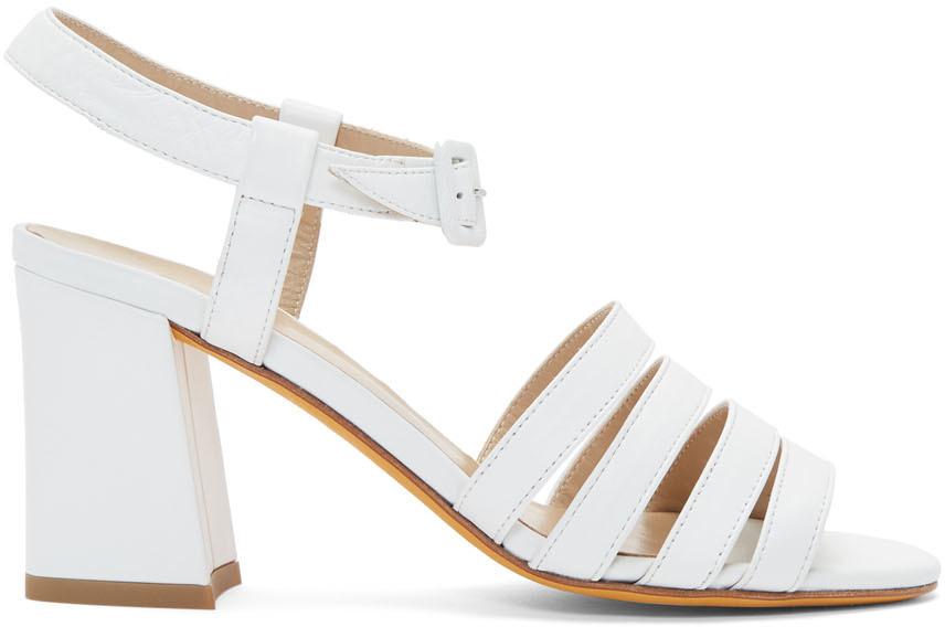 White Palma High Sandals