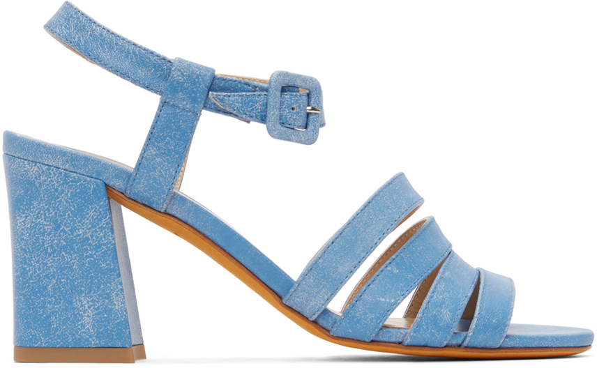 Blue Palma High Sandals