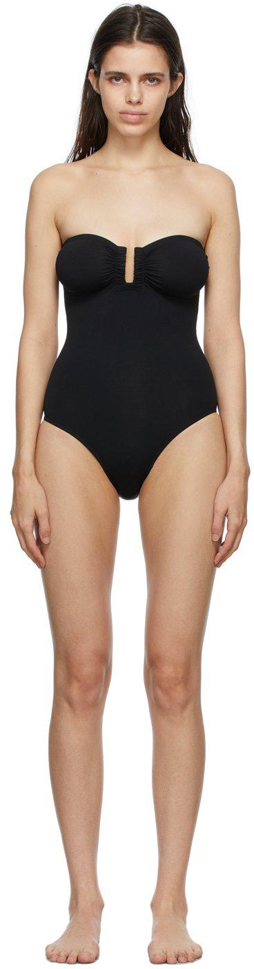 Black Cassiopée One-Piece Swimsuit