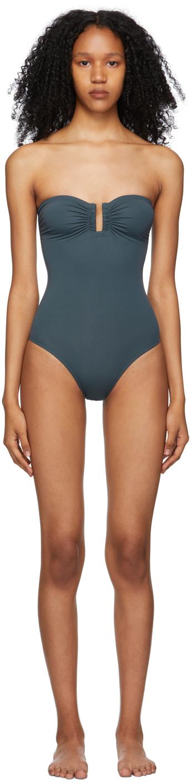 Grey Cassiopée One-Piece Swimsuit