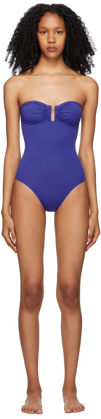 Blue Cassiopée One-Piece Swimsuit