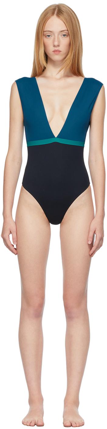 Multicolor Ambera 'Le Cap' One-Piece Swimsuit