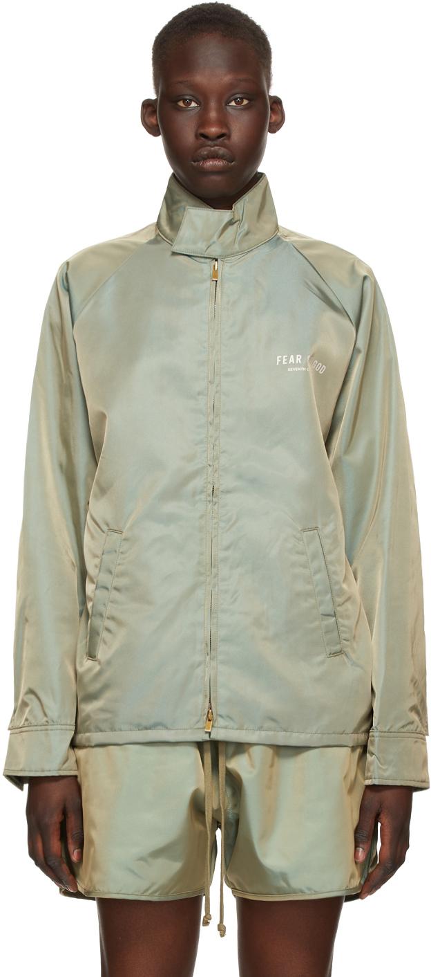 Green Iridescent Souvenir Jacket