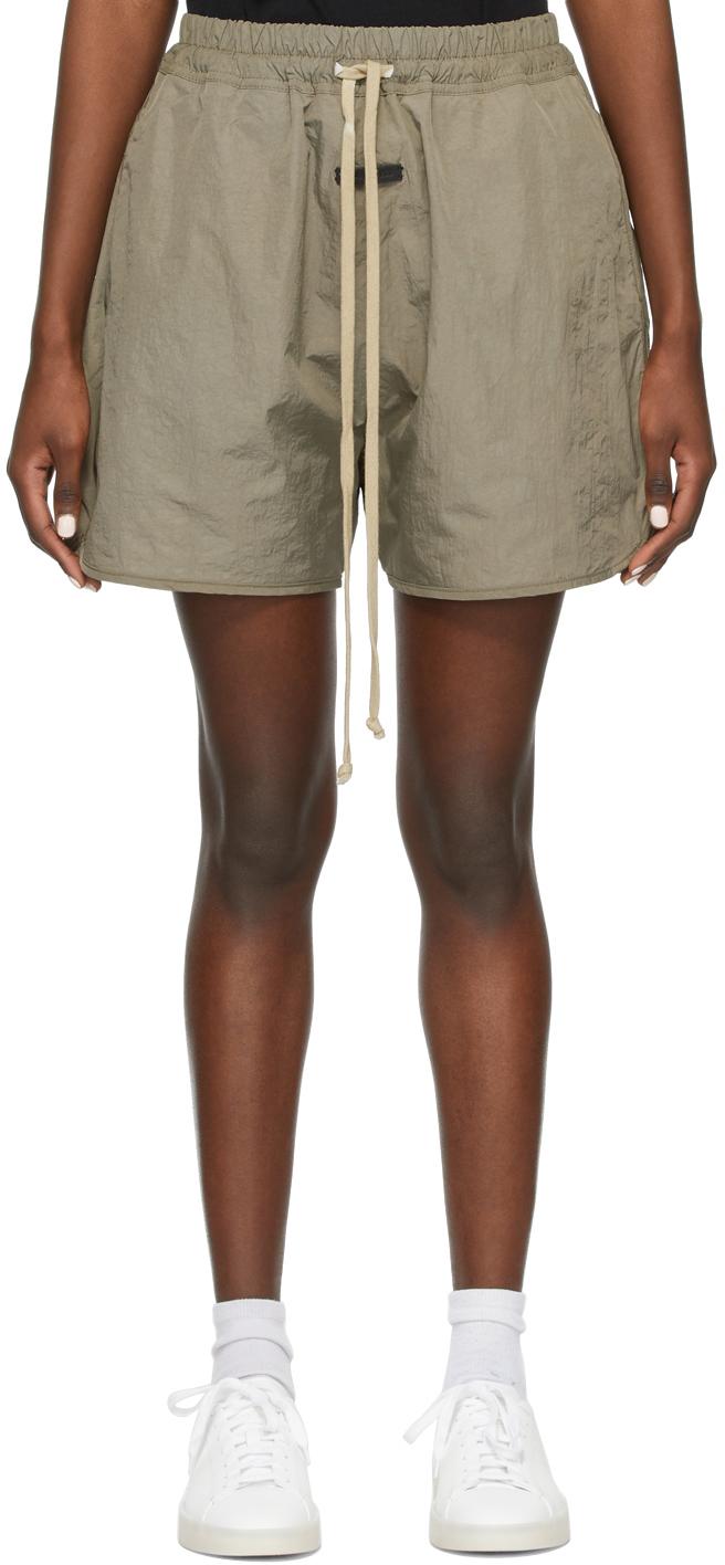Khai Nylon Track Shorts