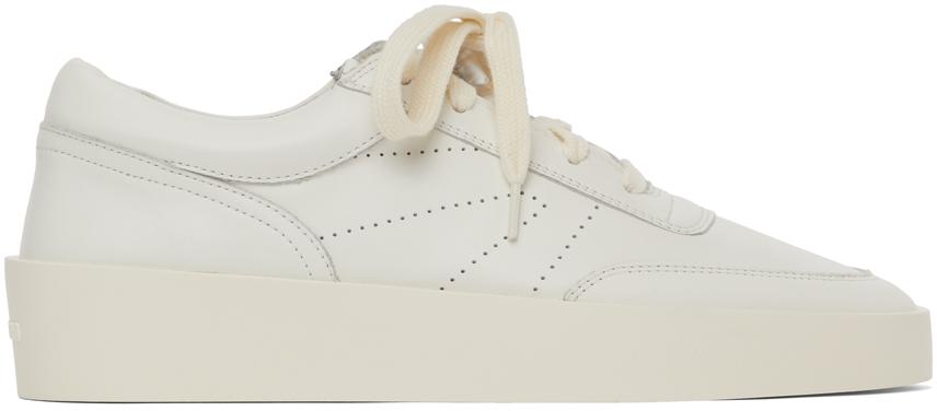 White Vintage Tennis Sneakers