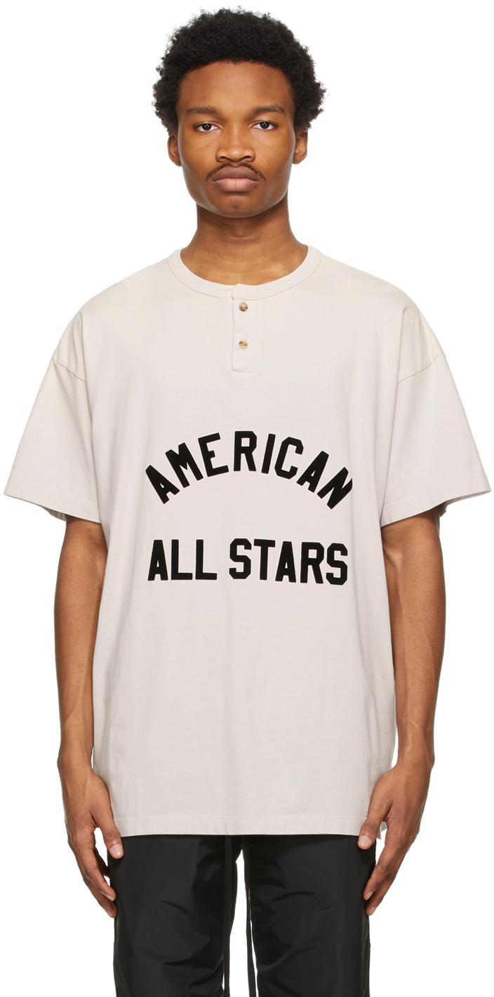 Off-White 'American All Stars' Short Sleeve Henley