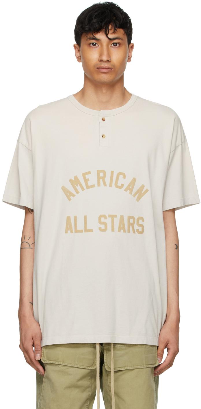 Grey 'All Star' Henley