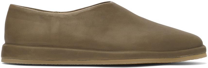 Khaki 'The Mule' Loafers