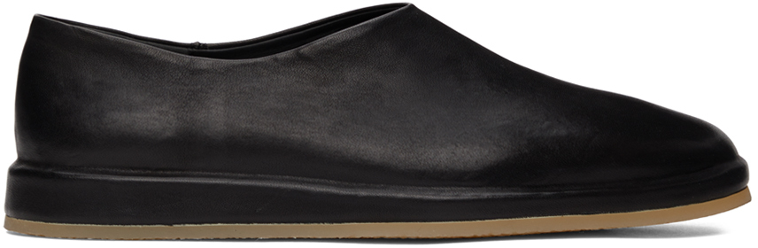 Black 'The Mule' Loafers