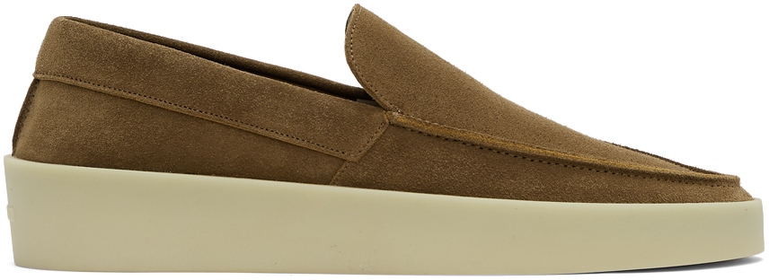 Brown Suede 'The Loafer' Loafers