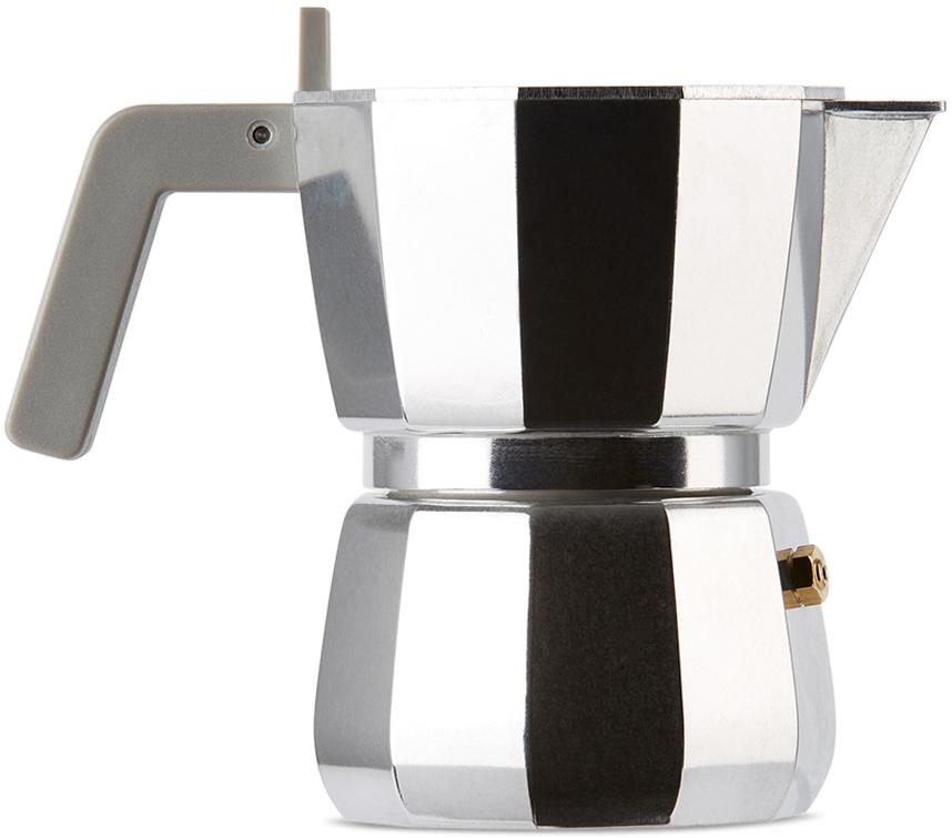 Silver Alessi Edition Moka Coffee Pot