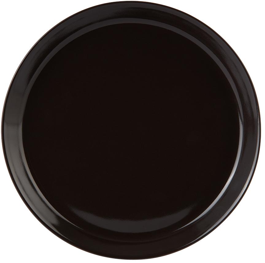 Black Alessi Edition Tonale Dessert Plate