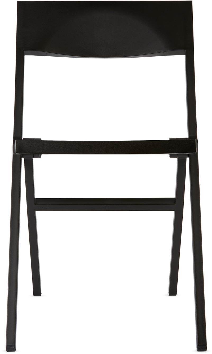 Black Piana Folding Chair