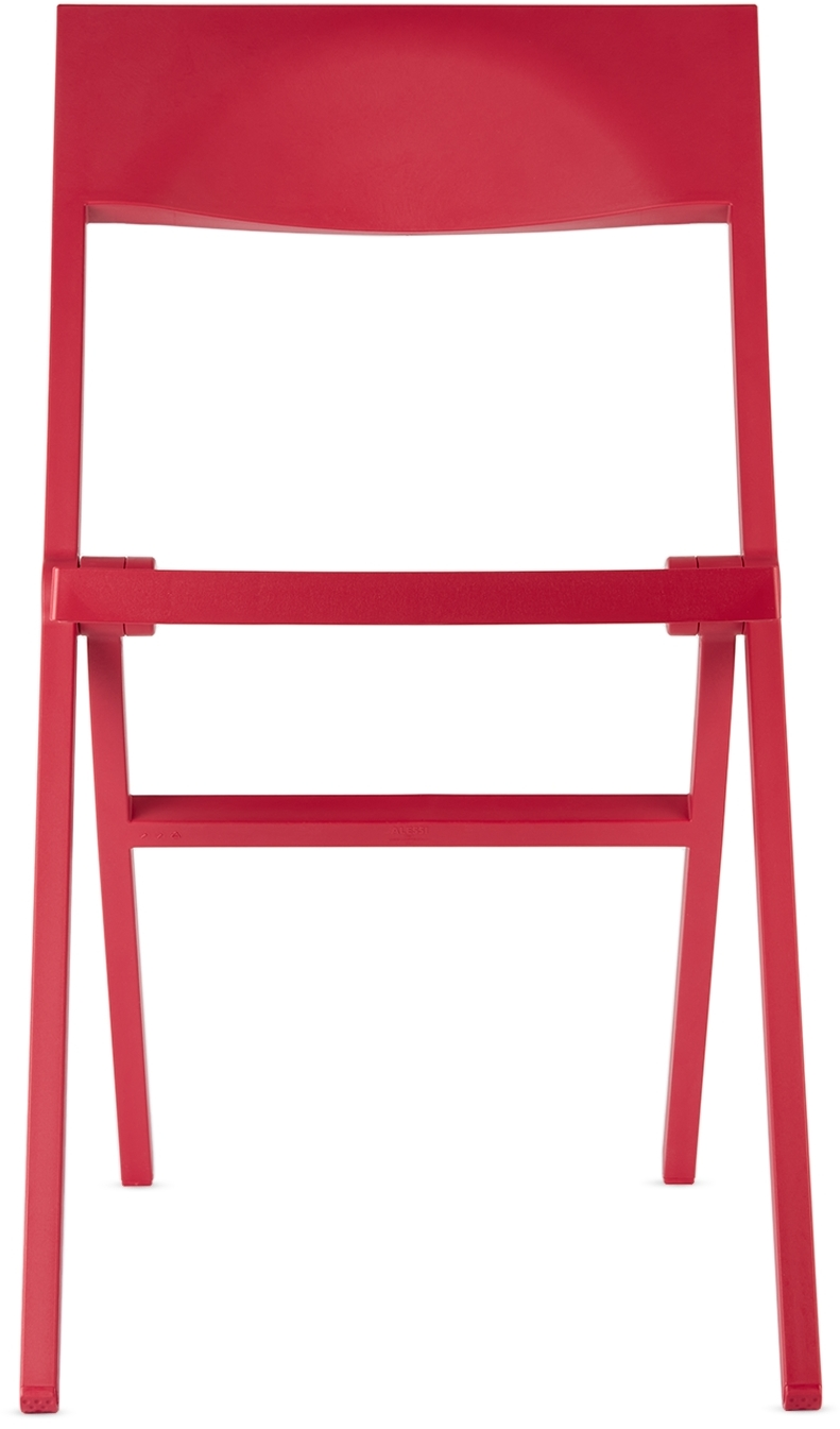 Red Piana Folding Chair