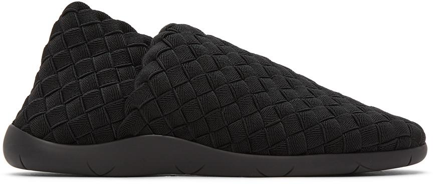 Bottega Veneta 黑色 Intrecciato 运动鞋