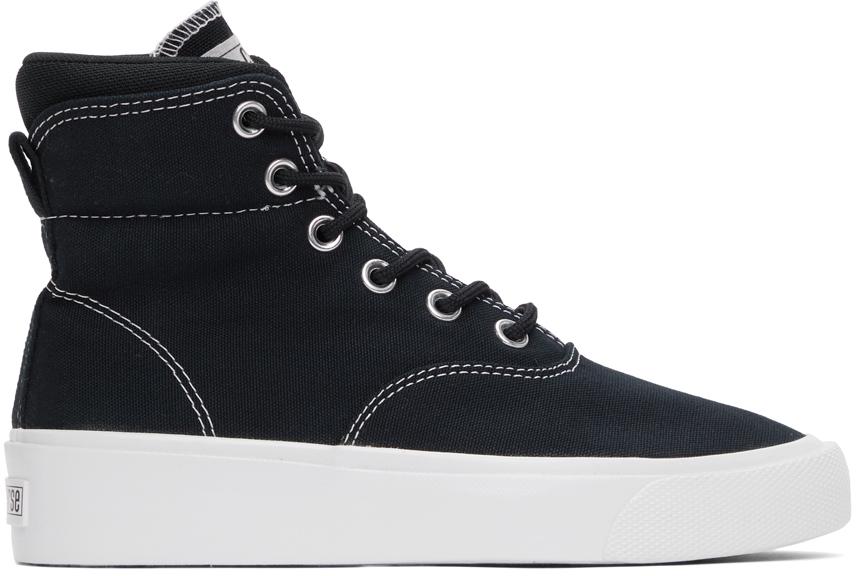 Black Skid Grip CVO High Sneakers