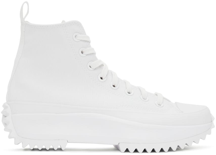 White Run Star Hike High Sneakers