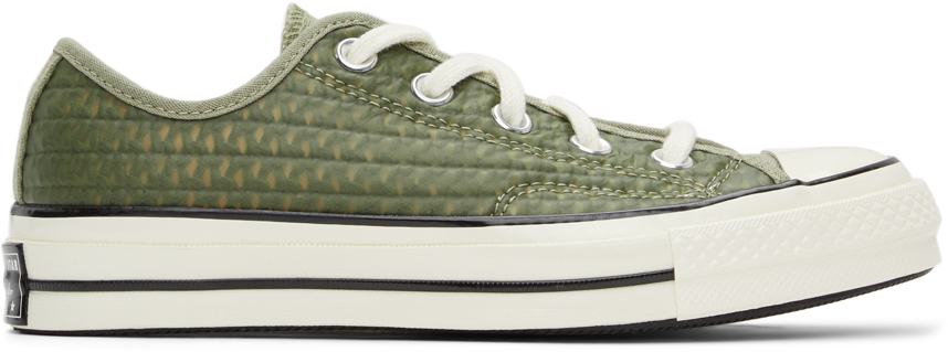 Khaki Rubber Chuck 70 OX Sneakers