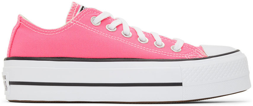 Pink Seasonal Color Chuck Taylor All Star Lift Low Sneakers