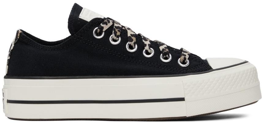 Black Platform Chuck Taylor All Star Low Sneakers