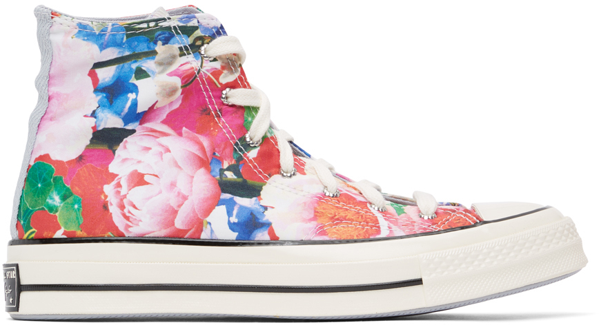 Multicolor Floral Chuck 70 High Sneakers