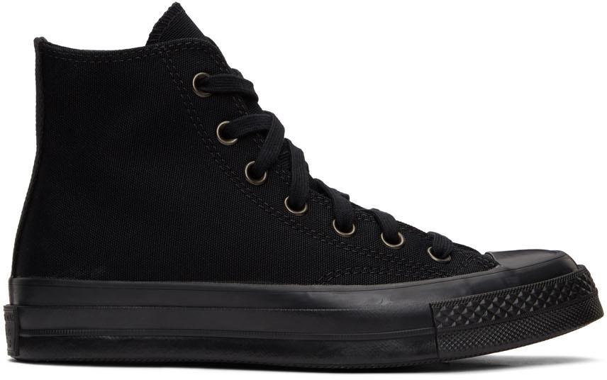 Black Monochrome Chuck 70 High Sneakers