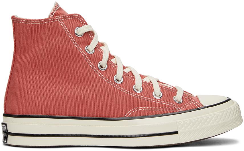 Pink Seasonal Color Chuck 70 High Sneakers