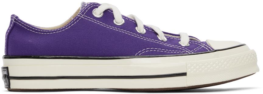 Purple Chuck 70 OX Sneakers