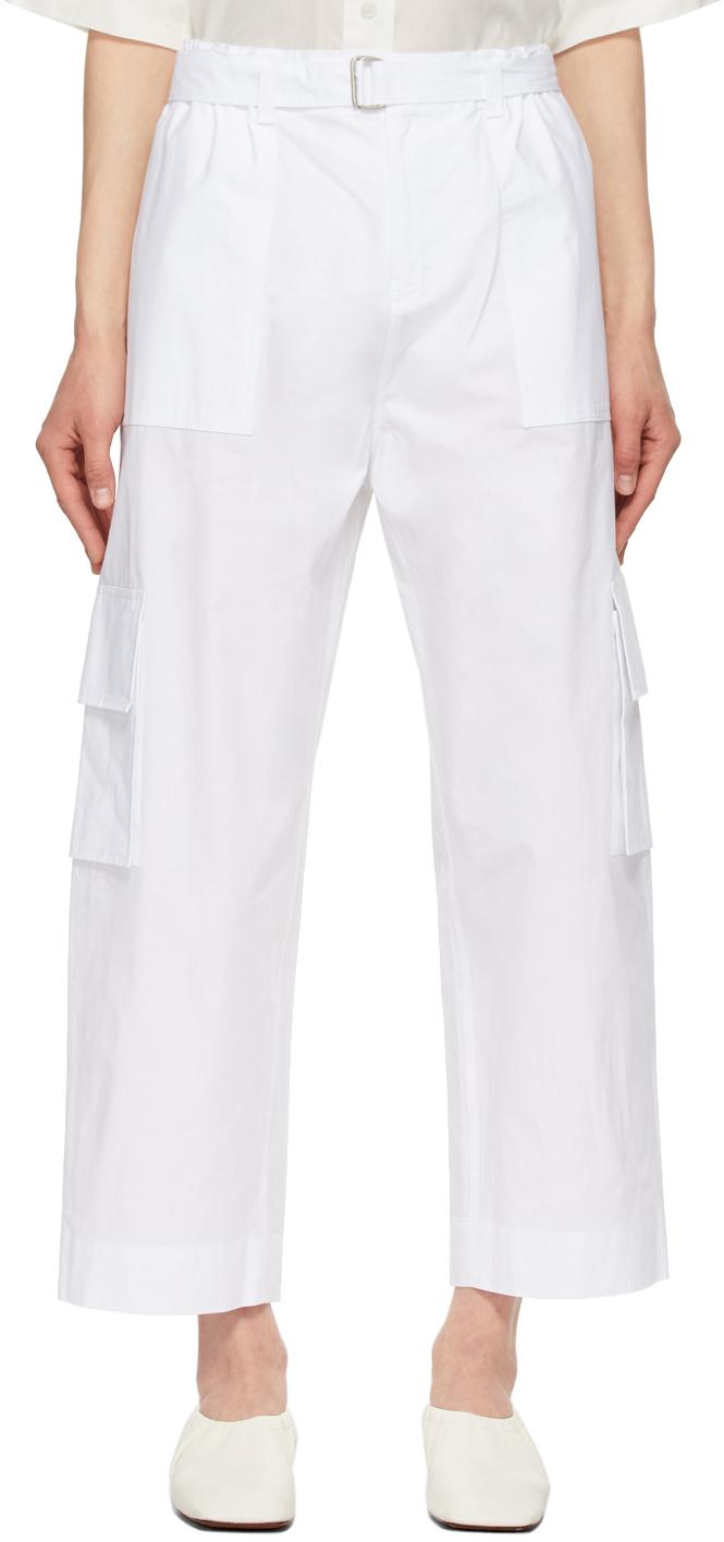 White Zachary Trousers
