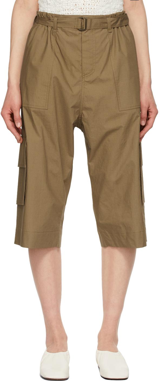 Khaki Zack Long Shorts
