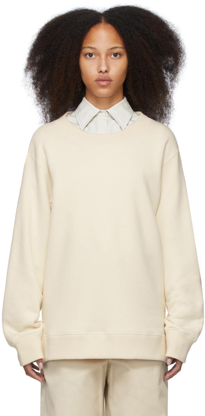 Off-White Undyed Sweatshirt